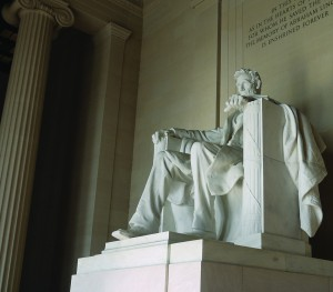 Lincoln Statue, Lincoln Memorial, Washington DC by Yortw